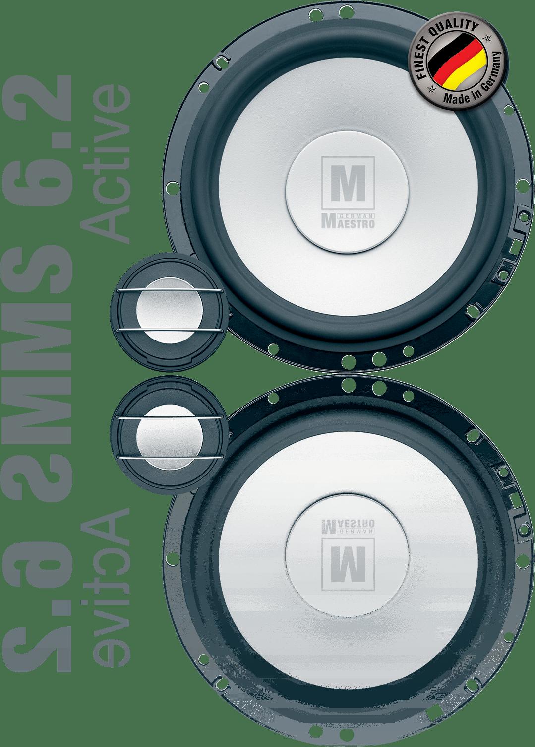 German Maestro USA MS 6.2 Active speaker set image