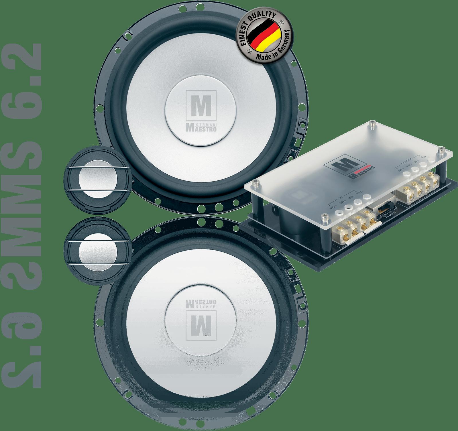 German Maestro USA MS 6.2 Component speaker set image