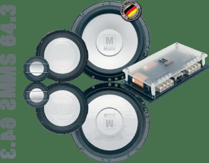 German Maestro USA M Line MS 64.3 speaker set image