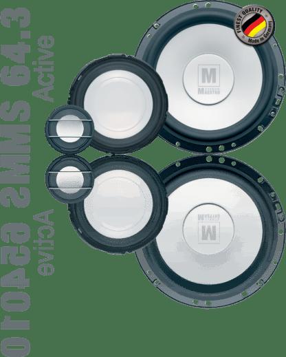 German Maestro M Line MS 64.3 Active speaker set image