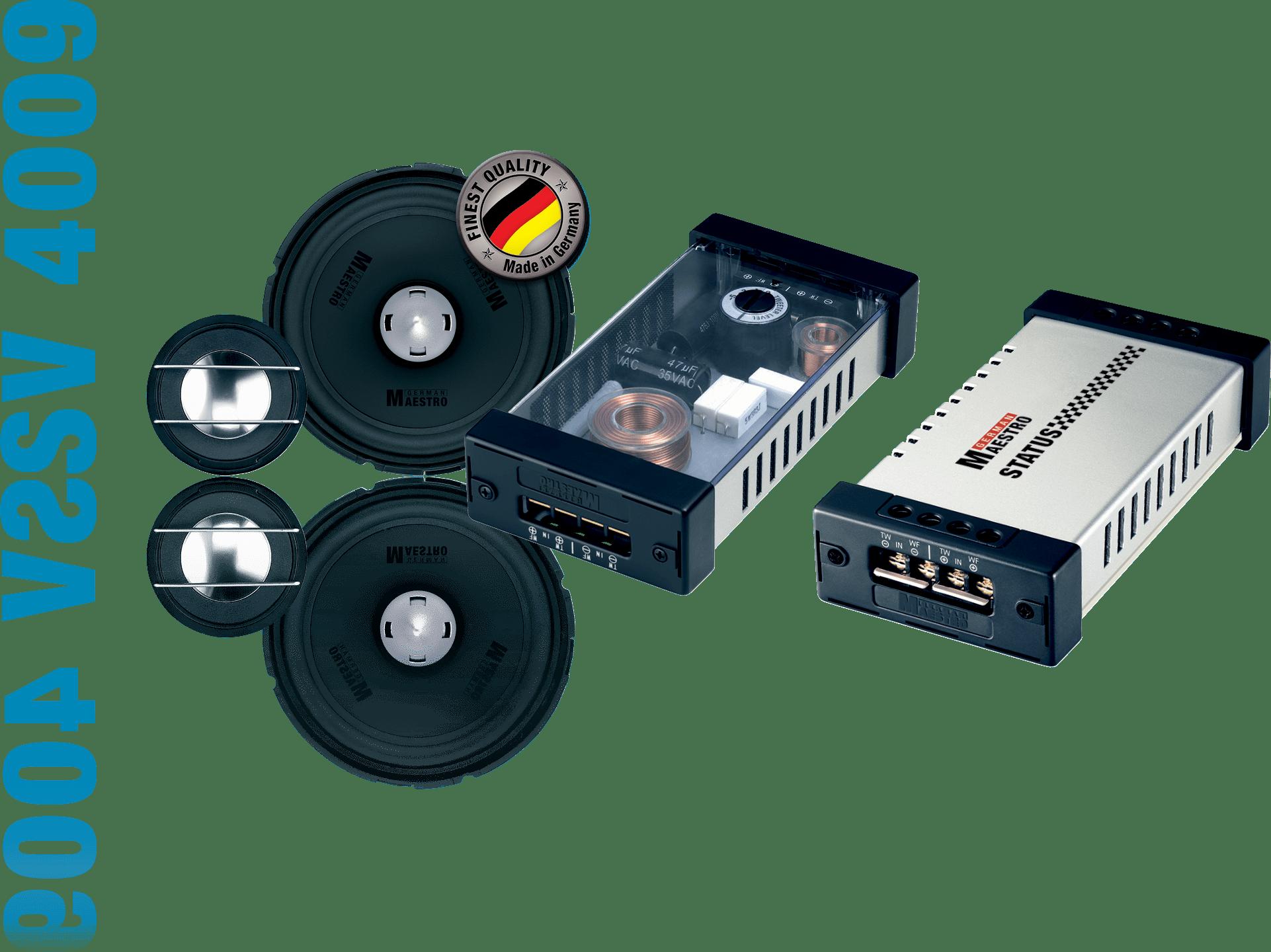 German Maestro Status Line SV 4009 Speaker Set