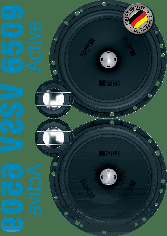 German Maestro Status Line SV 6509-A Speaker set