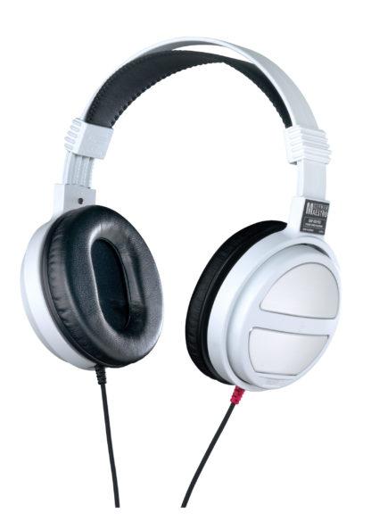 German Maestro USA Logic GMP 450 Pro W-SIL White Edition Headphones