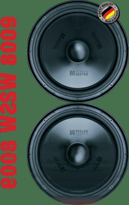 German Maestro USA Subwoofer SW 8009