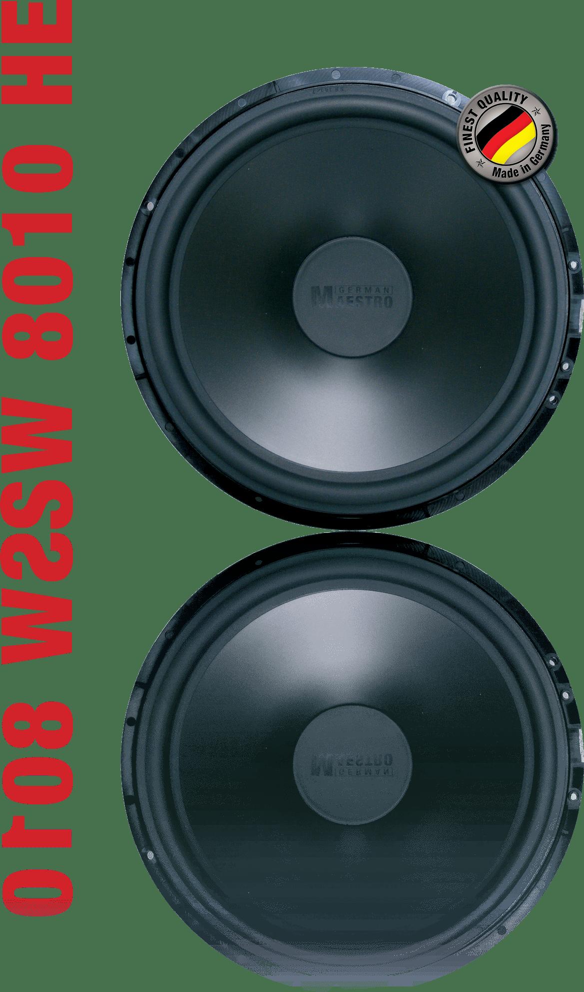 German Maestro Subwoofer SW 8010 HE