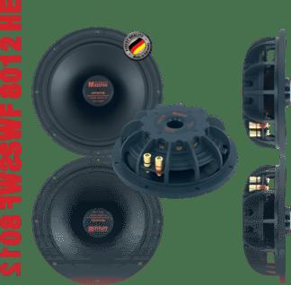 German Maestro USA Subwoofer SWF 8012 HE